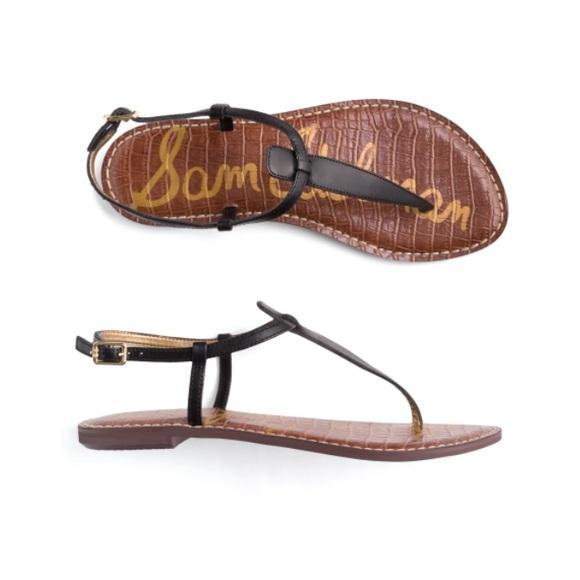 Sam Edelman Shoes - Sam Edelman Gigi Leather T Strap Sandal